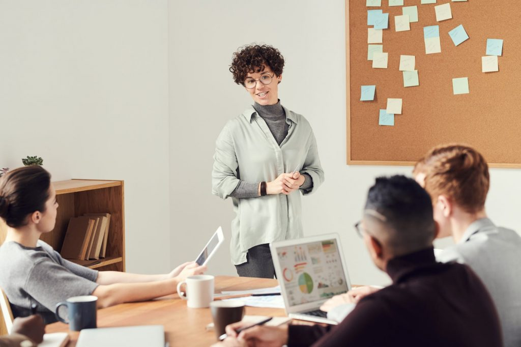 Office meeting, decide your marketing offer