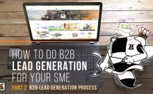 the b3b lead generation process for your sme