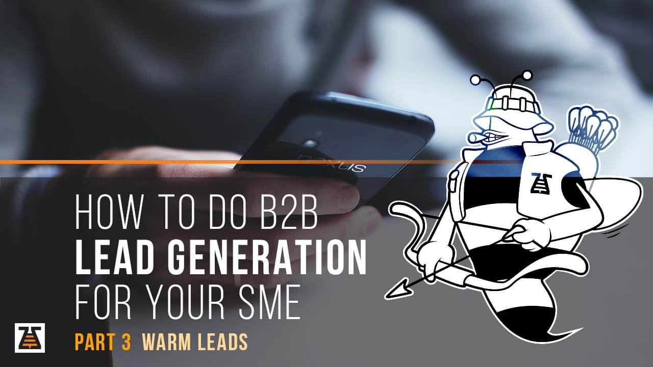 Warm leads that you'll acquire as a result of your b2b lead generation process