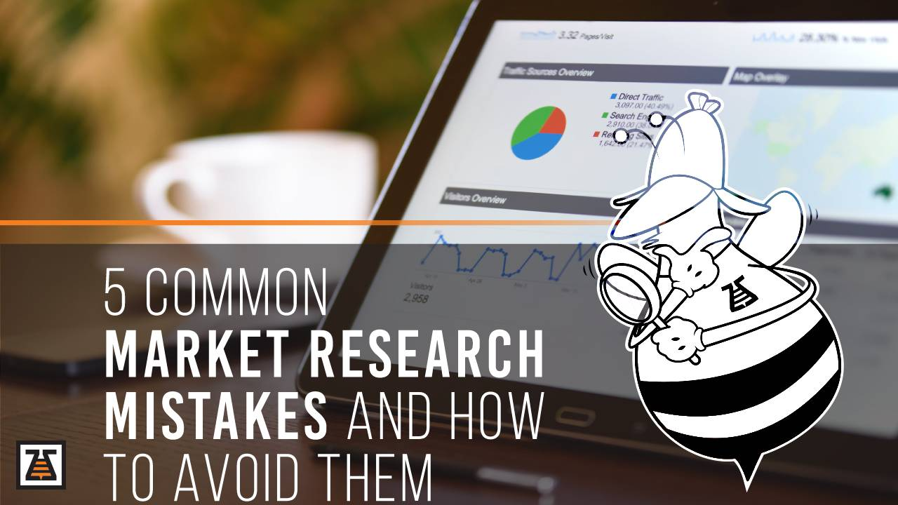These are the 5 market research mistakes marketers make as well as the tips that will help avoid them.