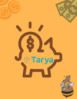 The Piggybank, as a symbol for Tarya, the most significant investment platform in Israel.