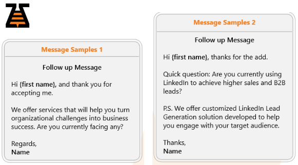 Follow up messages on LinkedIn - LinkedIn Lead Generation