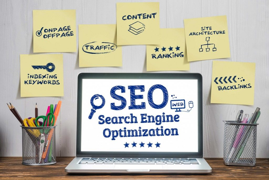 Search Engine Optimization bullet-points