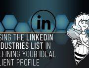 LinkedIn industries list